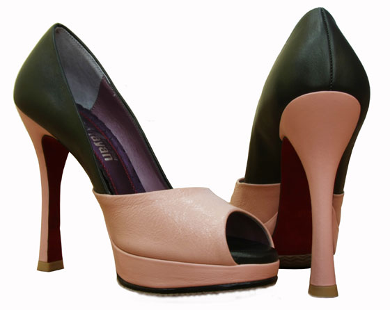 MAYAN :  designer shoes peep toe open toe